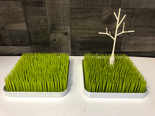 Boon Grass Countertop Drying Racks (Set of 2) With Twig Accessory