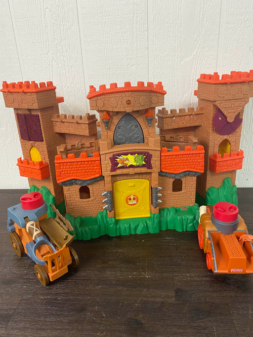 used Fisher Price Imaginext Dragon World Fortress