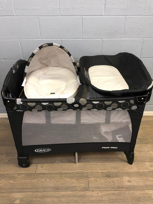used Graco Portable Napper And Changer