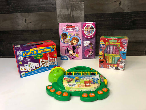 used BUNDLE Preschool Educational Toys