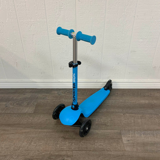 used Inline Scooters iSporter Mini LED Scooter