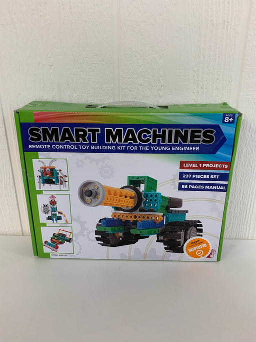 secondhand Brain Crunch Smart Machines Remote Robots Building Kit