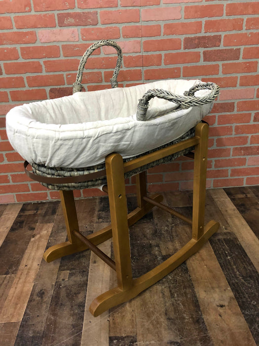 Restoration Hardware Moses Basket And Stand — Good Buy Gear