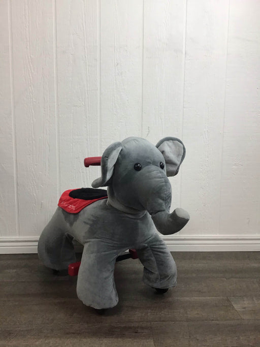 secondhand Radio Flyer Peanut Electric Ride-on Elephant