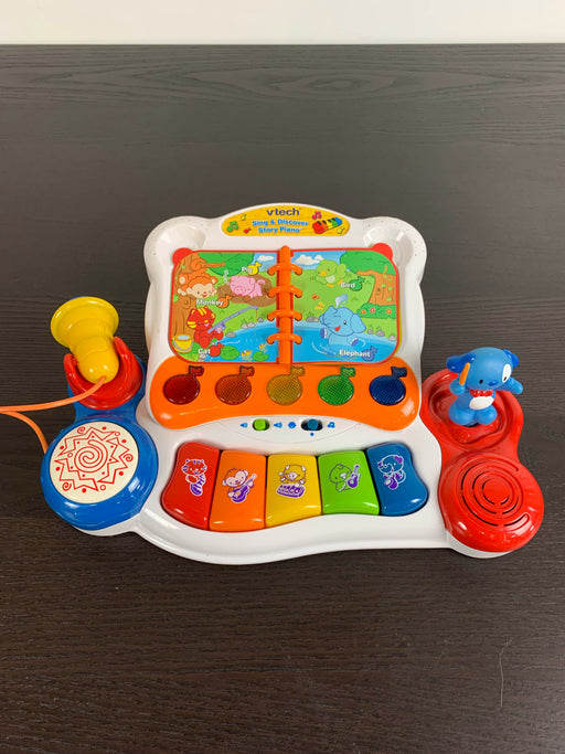 used VTech Sing and Discover Story Piano