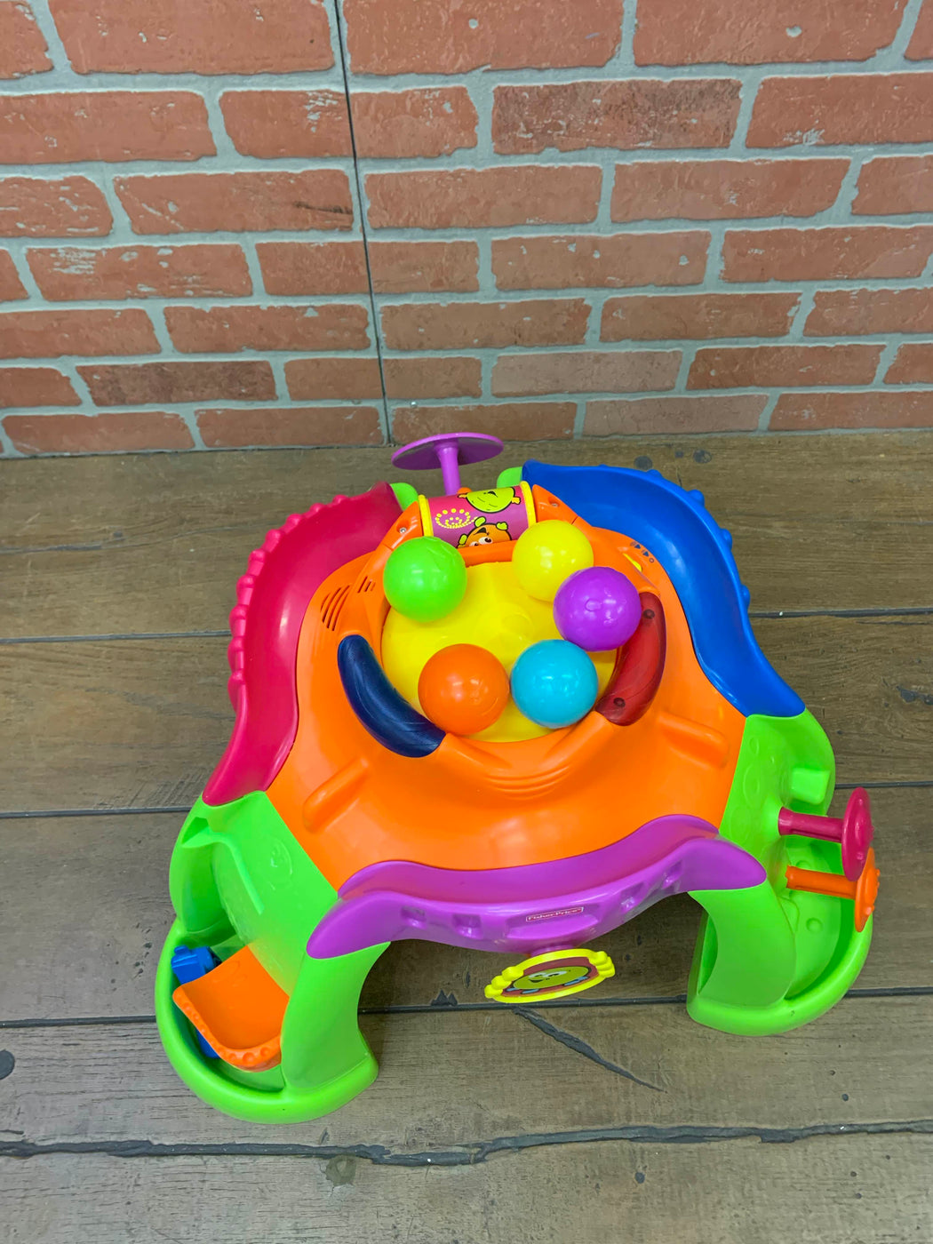 secondhand Fisher Price Stand-up Ballcano