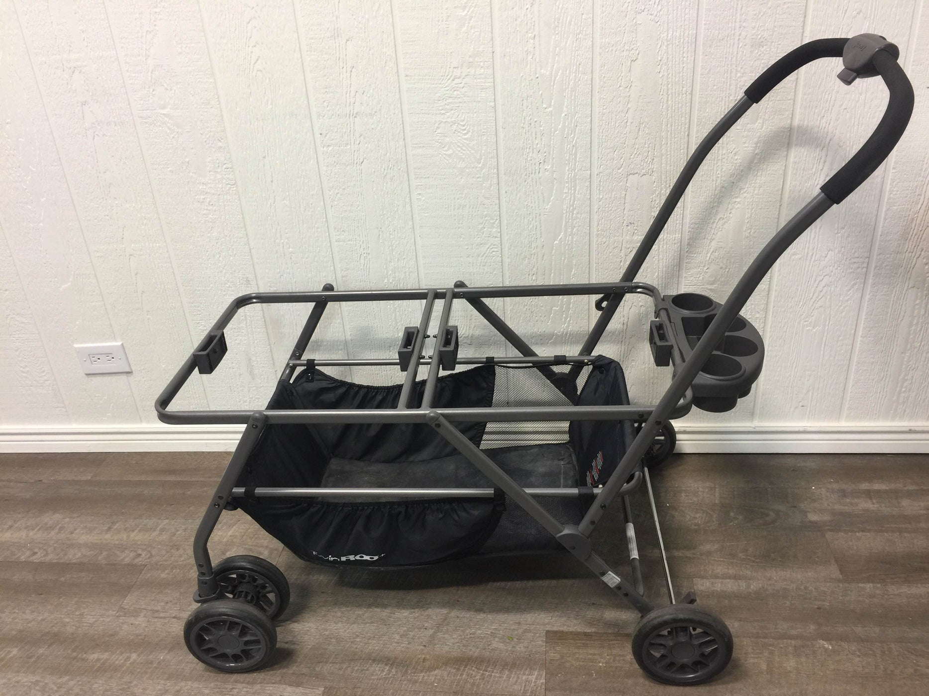 secondhand Joovy Twin Roo Car Seat Stroller