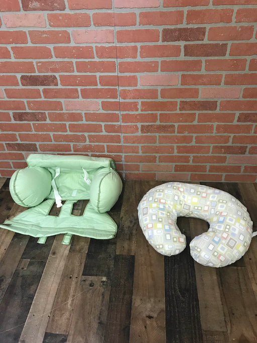Boppy Nursing Pillow and Shopping Cart Cover Bundle