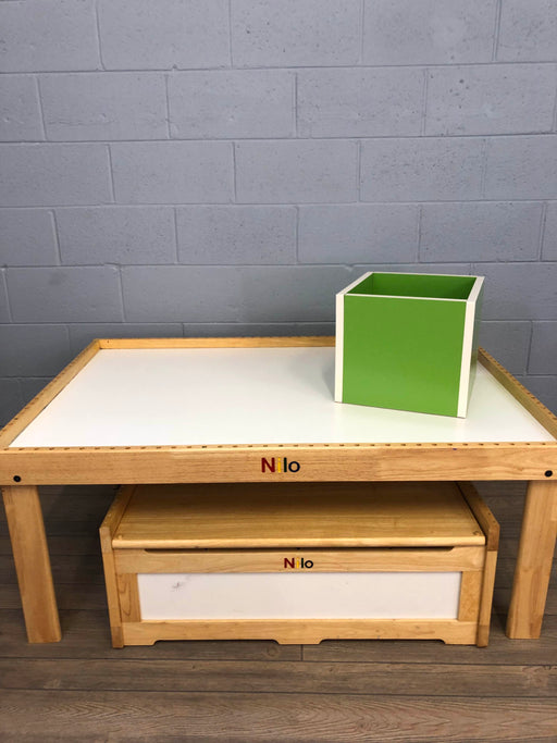 Nilo Multi Activity Play Table And Toy Chest