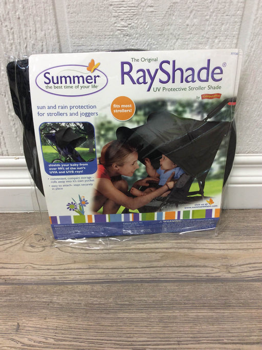 used Summer Infant Rayshade Stroller Cover