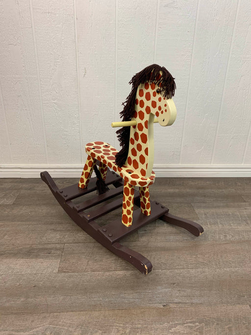 used KENYIELD Wooden Rocking Giraffe