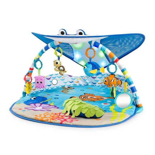 used Disney Baby Finding Nemo Mr. Ray Ocean Lights Activity Gym