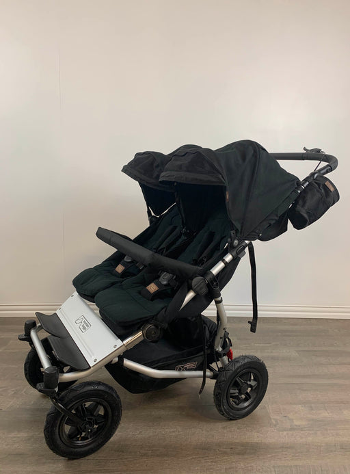used Mountain Buggy Duet Double Stroller