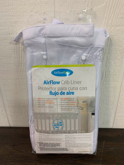 used Airflow Baby Crib Bumper