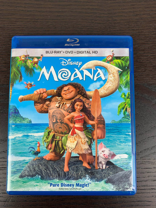 used Disney Moana Blu-ray
