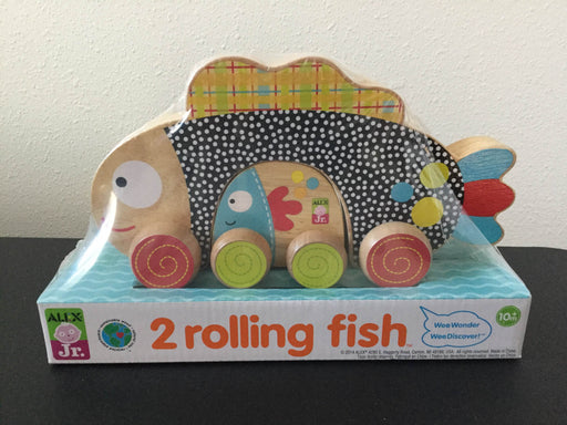 used ALEX Toys Alex Jr. Two Rolling Fish