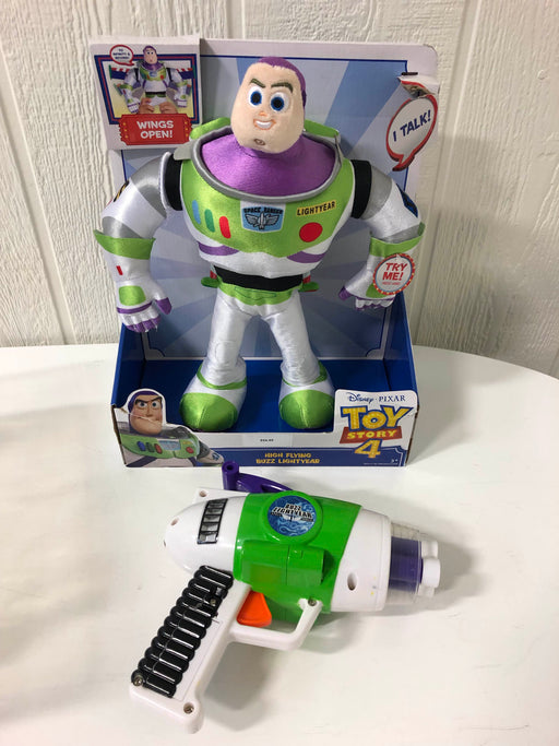 used BUNDLE Buzz Lightyear with Toy Laser Gun