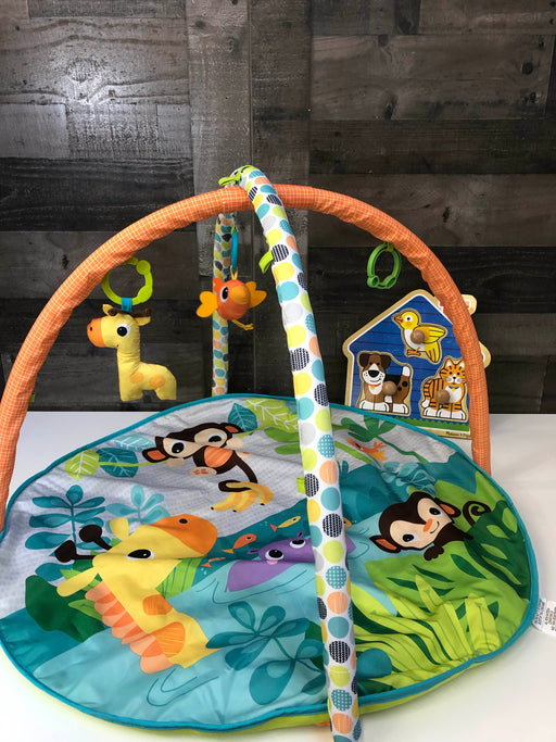 BUNDLE Play Gym And Puzzle