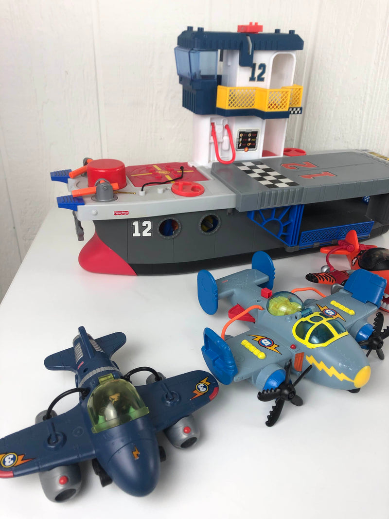 secondhand Fisher Price Imaginext Collection- Figures, Structures, and Accessories