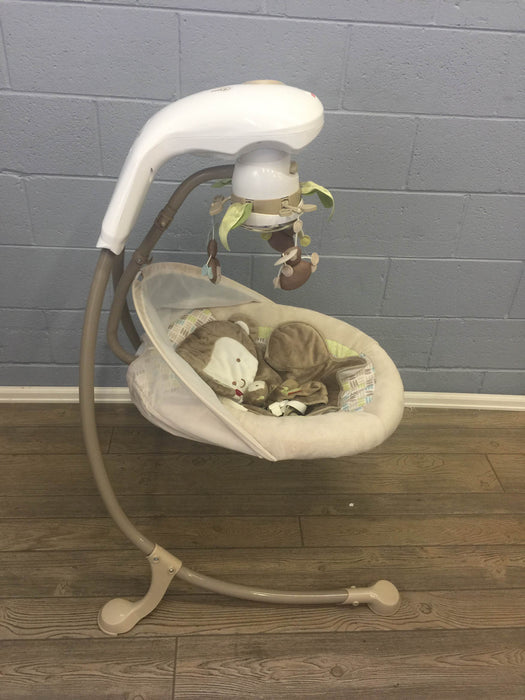 Fisher Price My Little SnugaMonkey Cradle Swing