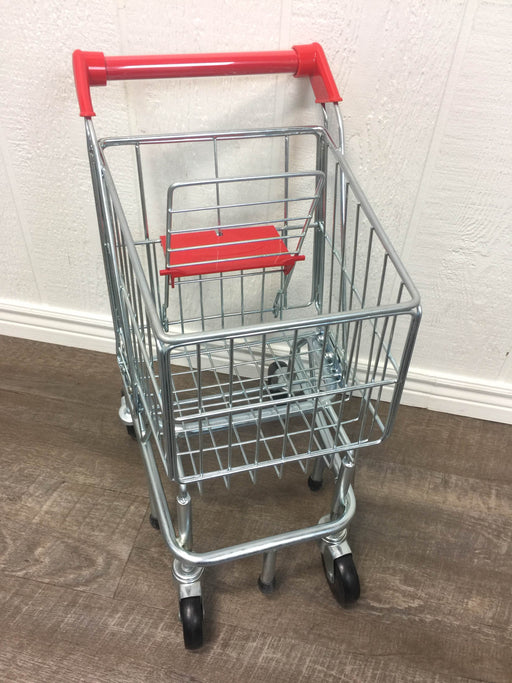 used Melissa & Doug Toy Shopping Cart