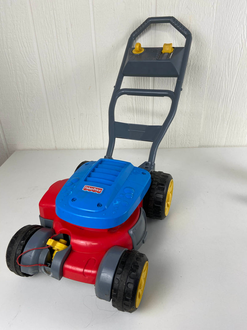 used Fisher Price Bubble Mower