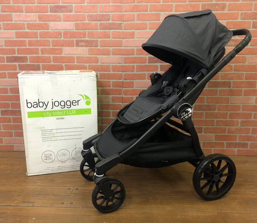 Baby Jogger City Select Lux Stroller, Granite, 2017