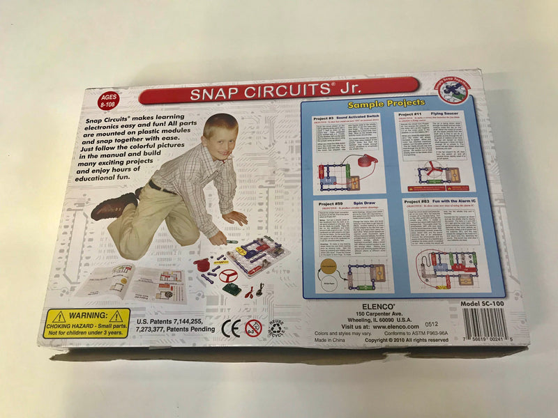 secondhand Elenco Snap Circuits Jr.