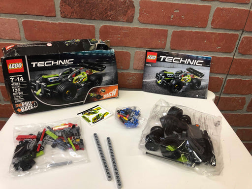Lego Technic Pull Back Car (42072)