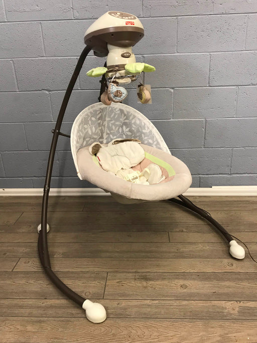 Fisher Price My Little Snugabunny Cradle n' Swing