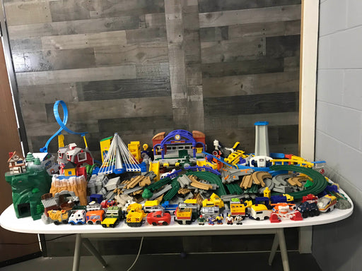 Fisher Price GeoTrax Huge Collection