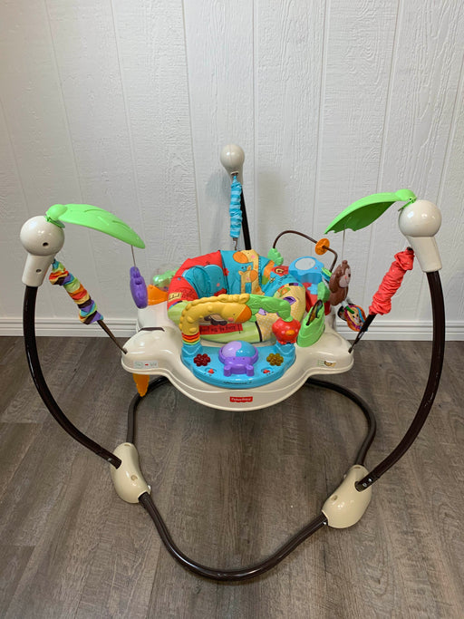 used Fisher Price Jumperoo Activity Center, Zoo