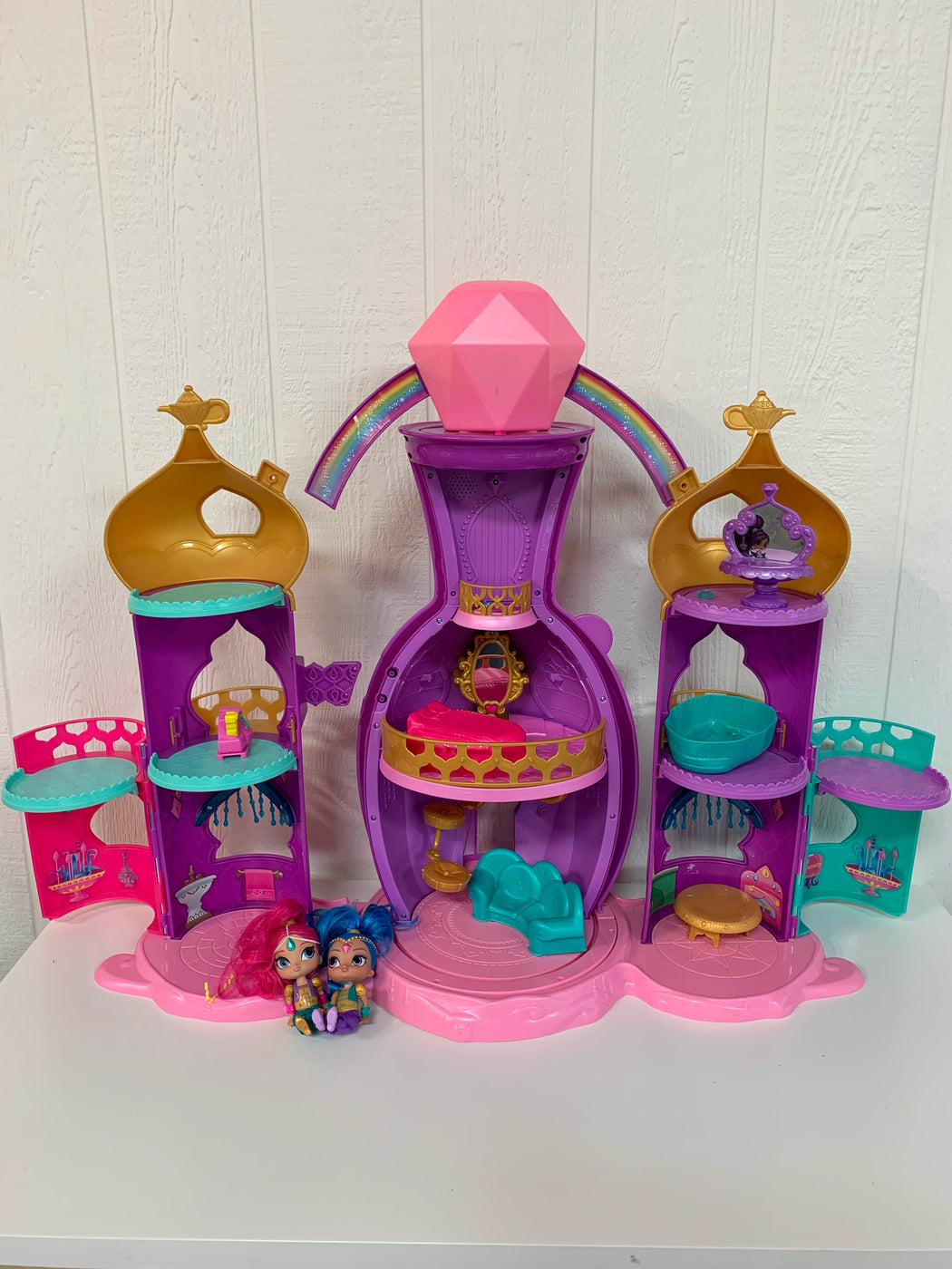 secondhand Fisher Price Shimmer And Shine Light Up Genie Palace