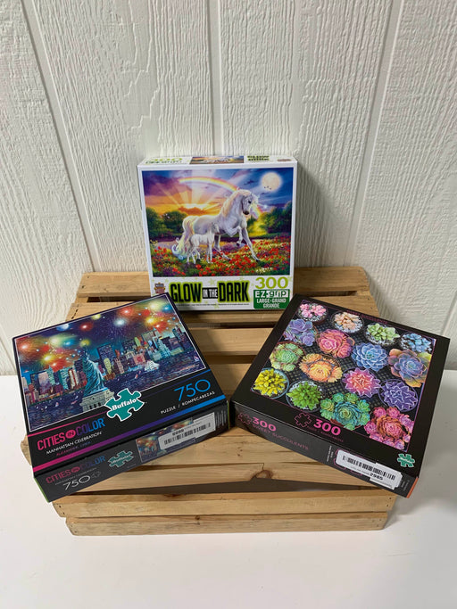 used BUNDLE Puzzles