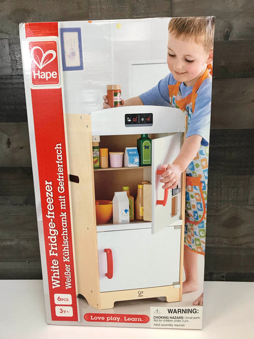 Hape Fridge Freezer Play Kitchen