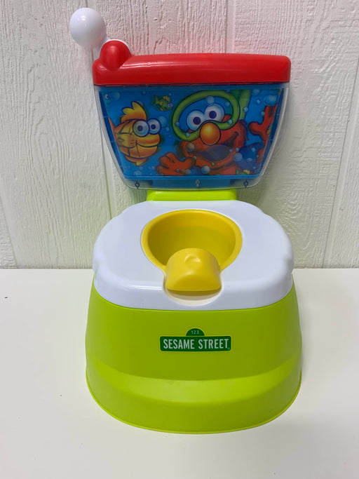 used Kolcraft Sesame Street Elmo Adventure Potty Training Chair With Toilet Seat Adapter