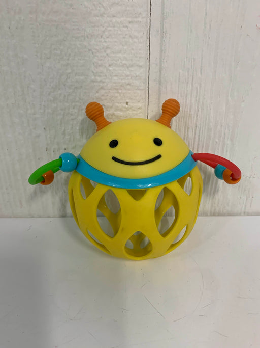 used Skip Hop Roll Around Rattle, Bee