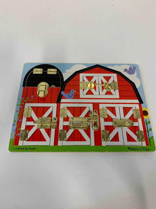used Melissa & Doug Latches Board