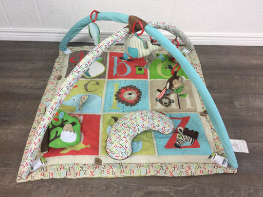 used Skip Hop Activity Gym/ Playmat, Alphabet Zoo