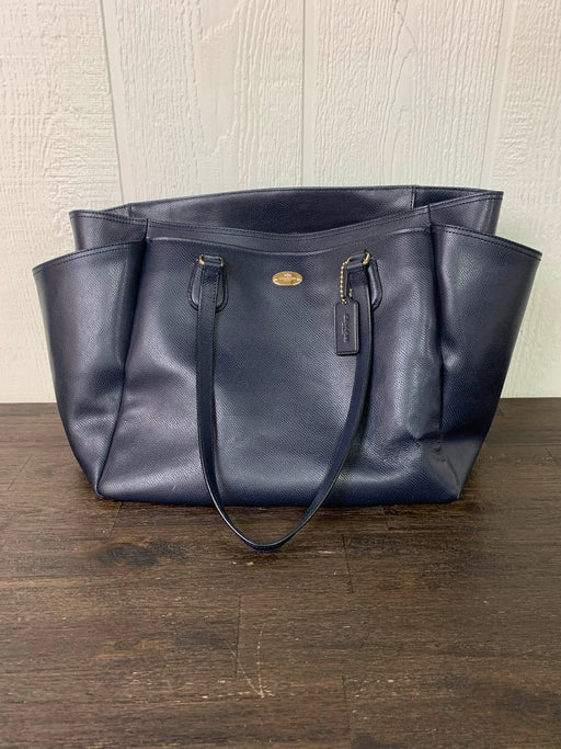 used Coach Diaper Bag