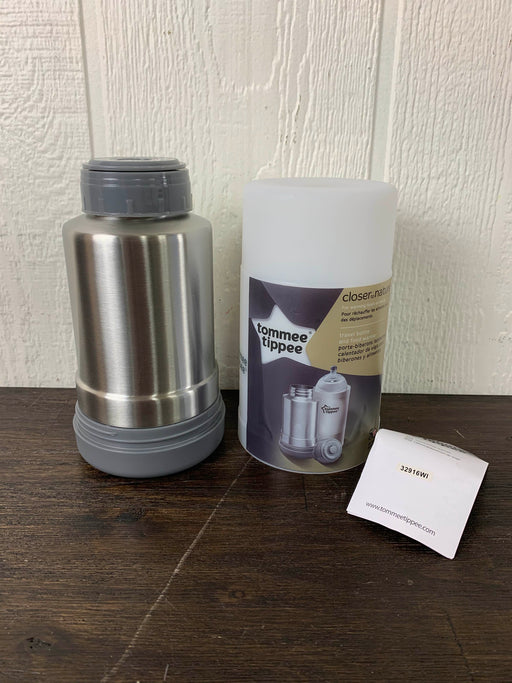 used Tommee Tippee Closer To Nature Travel Bottle And Food Warmer