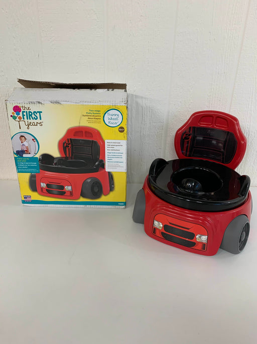 used The First Years Training Wheels Racer Potty System