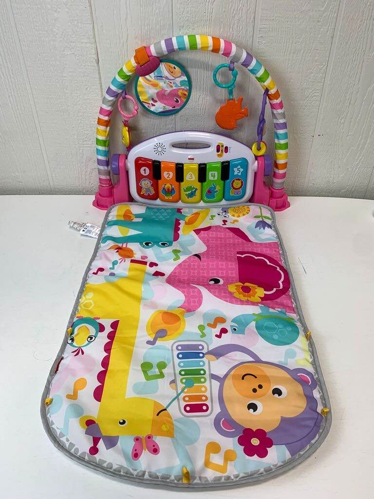 used Fisher Price Kick And Play Piano Mat
