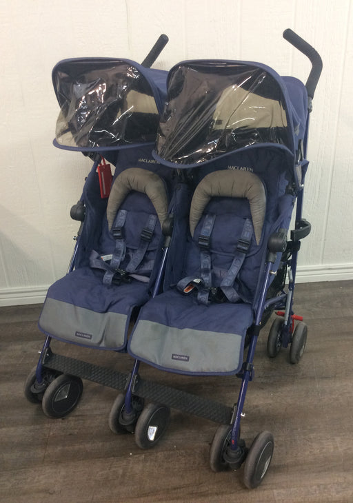used MacLaren Twin Techno Stroller