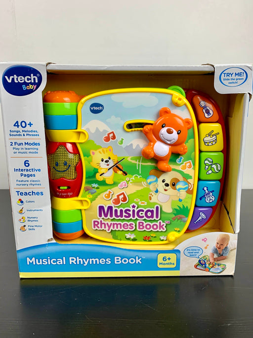 used VTech VTech Musical Rhymes Book