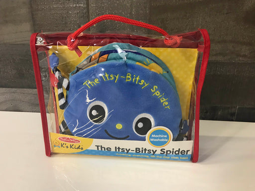 Melissa & Doug Soft Activity Book- Itsy Bitsy Spider