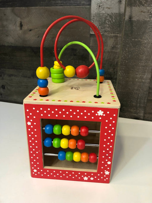 used Hape Discovery Box Activity Cube