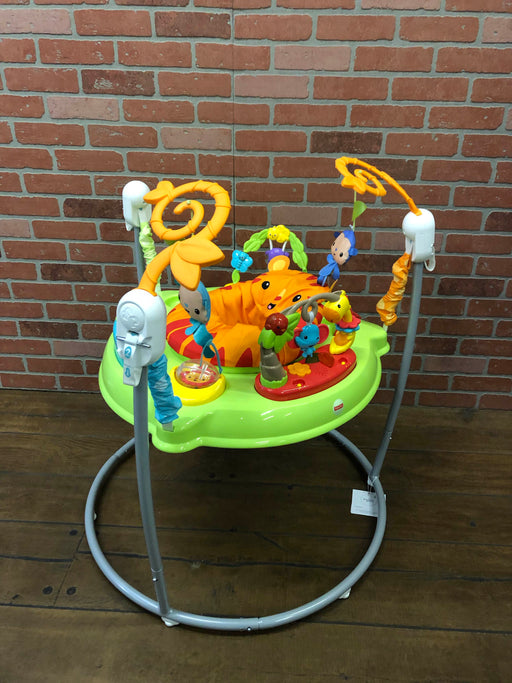 used Fisher Price Jumperoo Activity Center, Go Wild