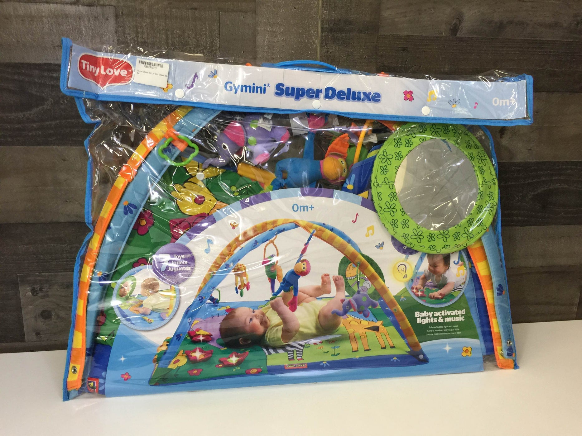 secondhand Tiny Love Gymini Super Deluxe Activity Playmat