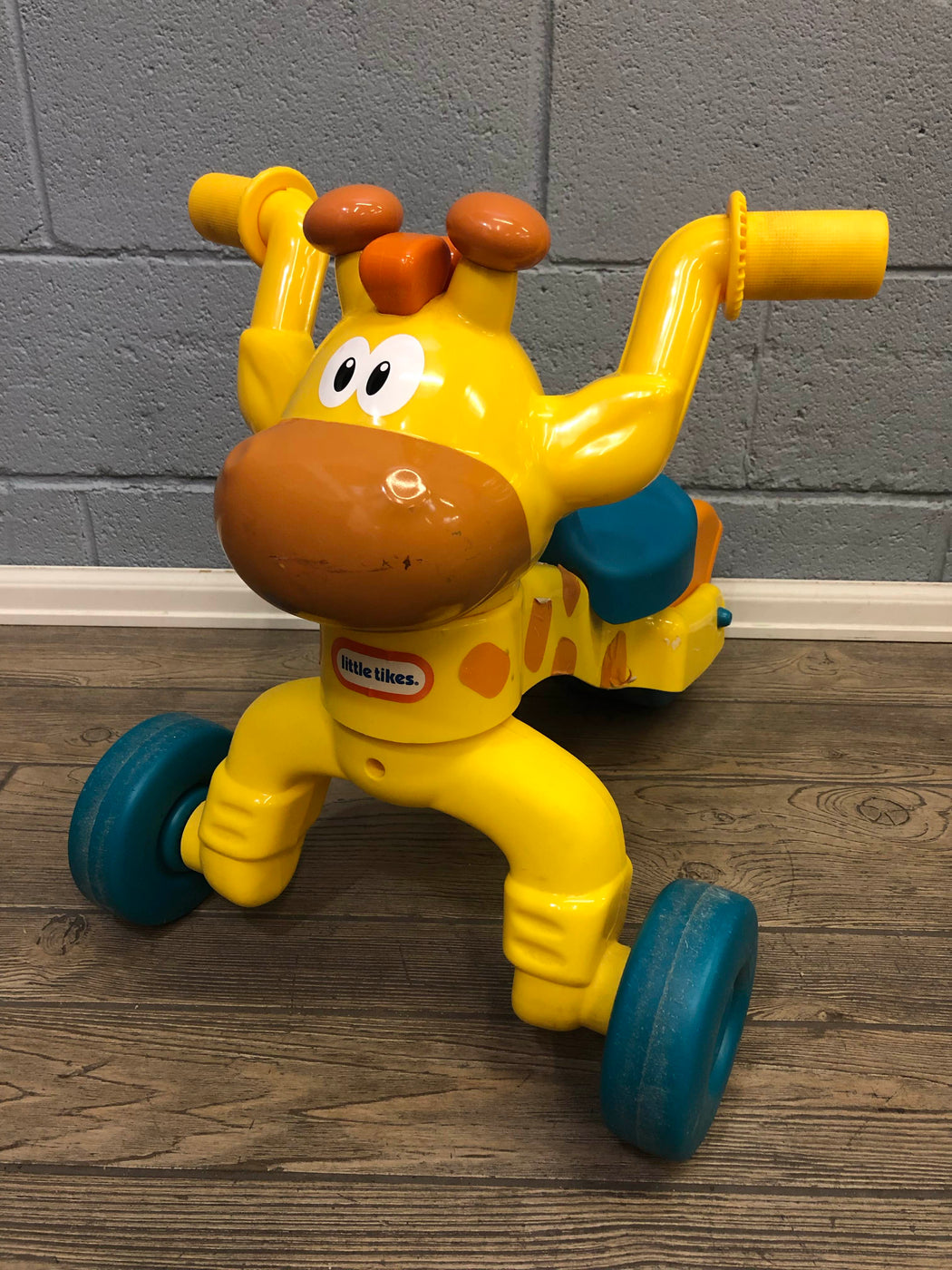 used Little Tikes Go And Grow Lil Rollin' Giraffe